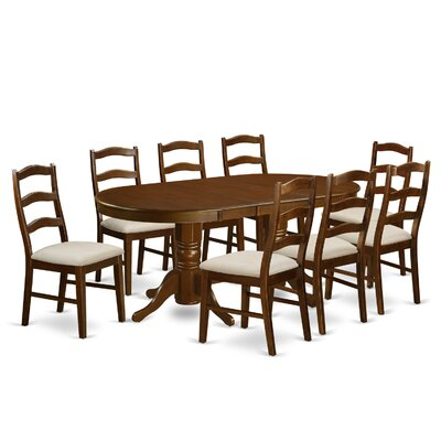 East West Furniture Vancouver 9 Piece Dining Set