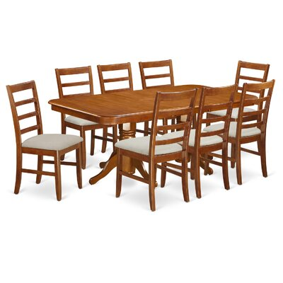 East West Furniture Napoleon 9 Piece Dining ..