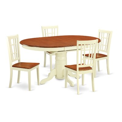 East West Furniture Kenley 5 Piece Dining Set