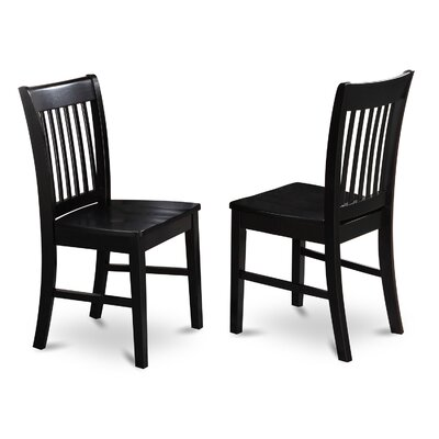 East West Furniture Norfolk Side Chair (Set of 2)