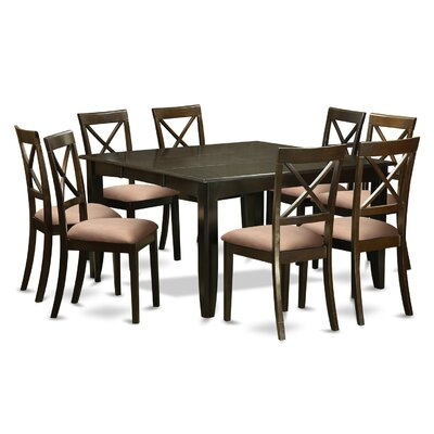 East West Furniture Parfait 9 Piece Dining Set
