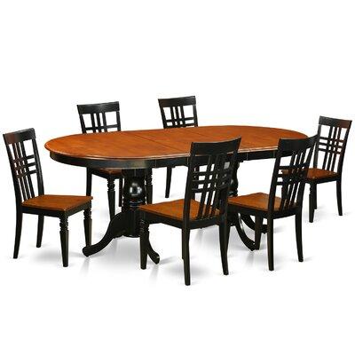 East West Furniture 7 Piece Dining Set