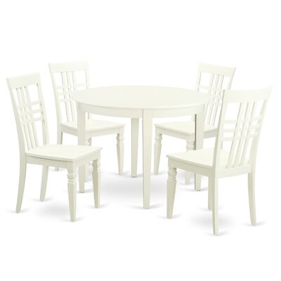 East West Furniture 5 Piece Dining Set