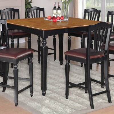 East West Furniture Chelsea 9 Piece Dining Set