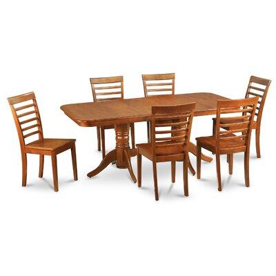 East West Furniture Napoleon 7 Piece Dini..