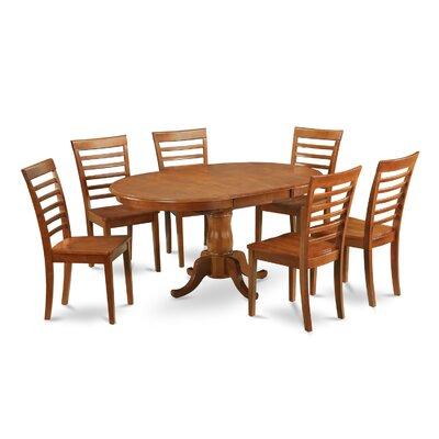 East West Furniture Portland 5 Piece Dining Set
