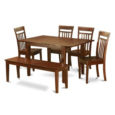 Wooden Importers Picasso 6 Piece Dining Set