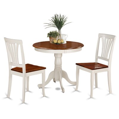 Alcott Hill Ranshaw 3 Piece Dining Set