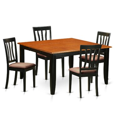 Wooden Importers Parfait 5 Piece Dining Set