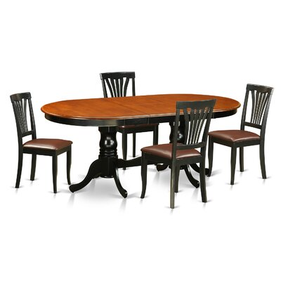 Wooden Importers Newton 5 Piece Dining Set