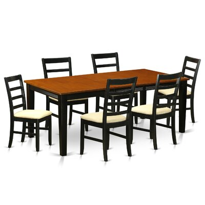 Wooden Importers Quincy 7 Piece Dining..