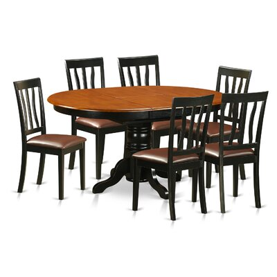 Wooden Importers Easton 7 Piece Dining Set