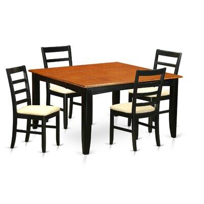 Wooden Importers Parfait 5 Piece Dining Set