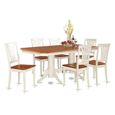 Wooden Importers Napoleon 7 Piece Dining ..