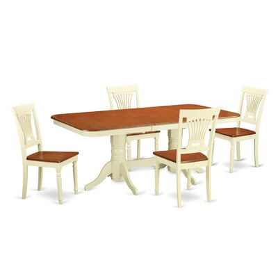 Wooden Importers Napoleon 5 Piece Dining ..