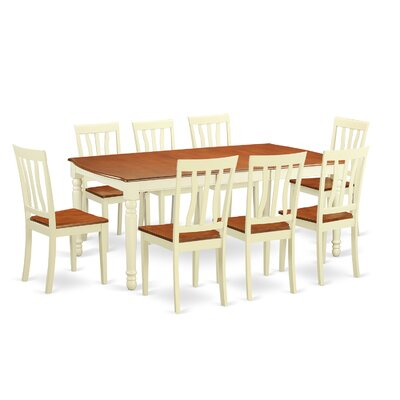 Wooden Importers Dover 9 Piece Dining ..