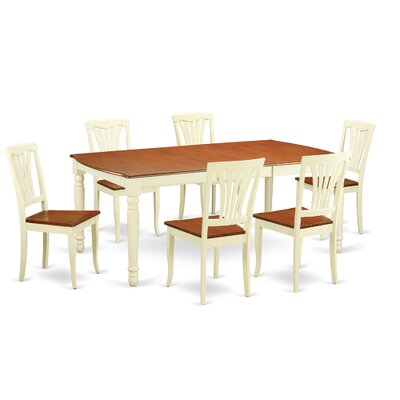 Wooden Importers Dover 7 Piece Dining Set