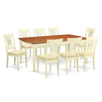 Wooden Importers Dover 9 Piece Dining Set