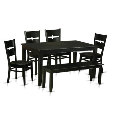 Wooden Importers Dudley 6 Piece Dining Set