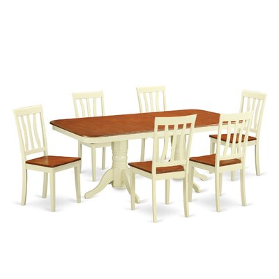 Wooden Importers Napoleon 7 Piece Dining Set