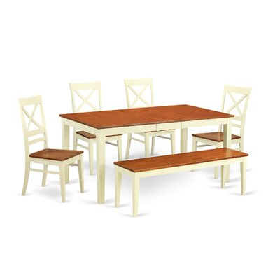 Wooden Importers Napoli 6 Piece Dining Set