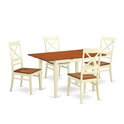 Wooden Importers Norfolk 5 Piece Dining Set