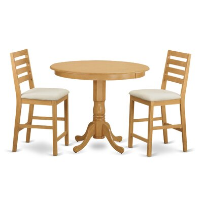 Wooden Importers Trenton 3 Piece Dining Coun..