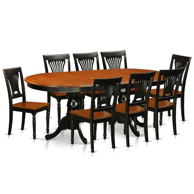 Darby Home Co Germantown 9 Piece Dining Set Image
