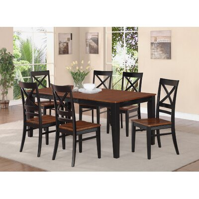 Wooden Importers Quincy 5 Piece Dining Set