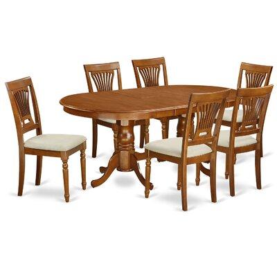 Wooden Importers Plainville 7 Piece Dining Set