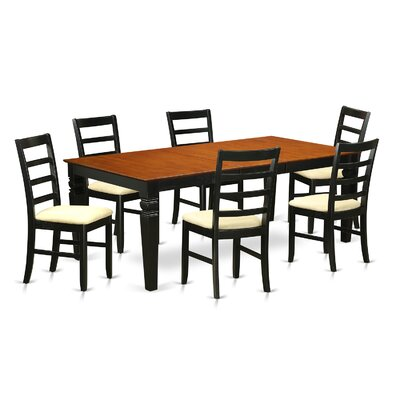 Wooden Importers Logan 7 Piece Dining Set
