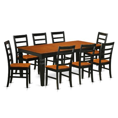 Wooden Importers Logan 9 Piece Dining Set