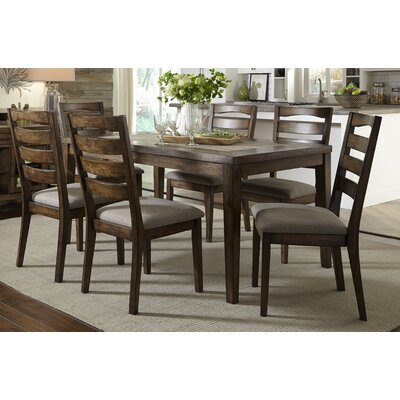 Loon Peak West Adams 7 Piece Dining Set