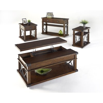 Loon Peak Fusillade Coffee Table with Lift Top