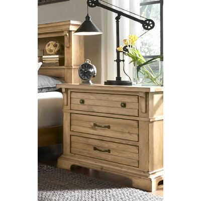 Progressive Furniture Inc. Chestnut Hill 3 Drawer Night Stand