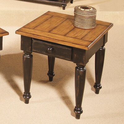 Loon Peak Arona 1 Drawer End Table