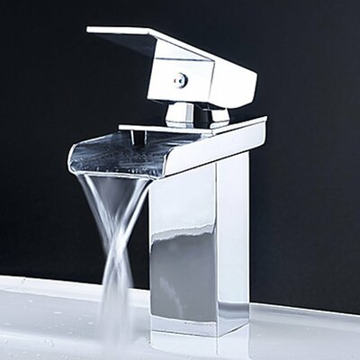 Bathroom Sinks Faucets kokols single handle single hole waterfall bathroom sink faucet