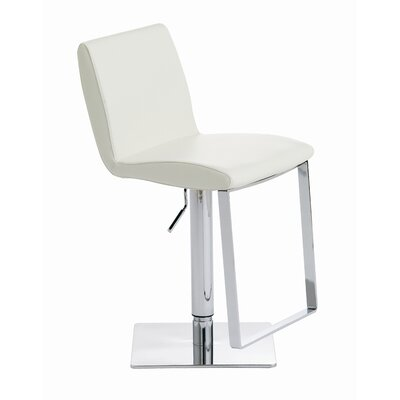 Nuevo Lewis Adjustable Height Swivel Bar Stool