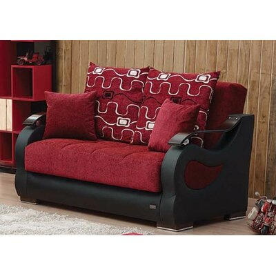Beyan Signature Pittsburgh Sleeper Loveseat