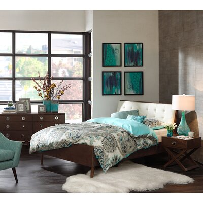 INK+IVY Cosmo Upholstered Platform Bed