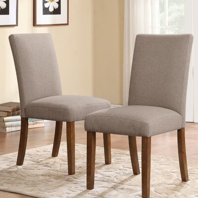 Dorel Living Parsons Chair (Set of 2)