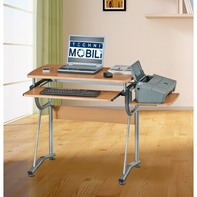 Techni Mobili Compact Computer Desk with ..