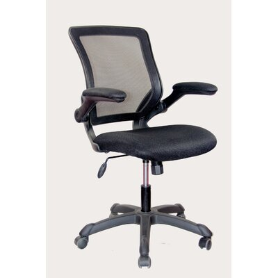 Techni Mobili Mid-Back Mesh Task Chair wi..