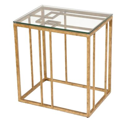 Chelsea House Geometric End Table
