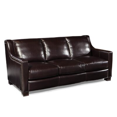 Palatial Furniture Carrington Leather Sofa