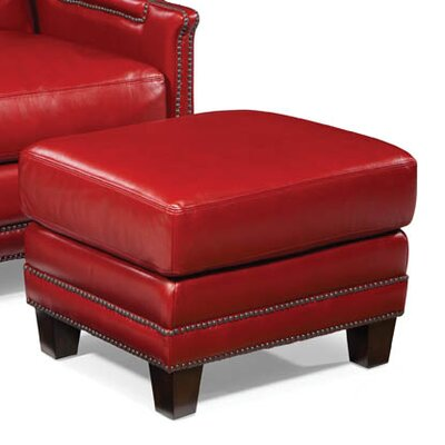 Palatial Furniture Prescott Leather Ottoman Image