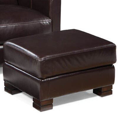 Palatial Furniture Carrington Leather Ottoman Image