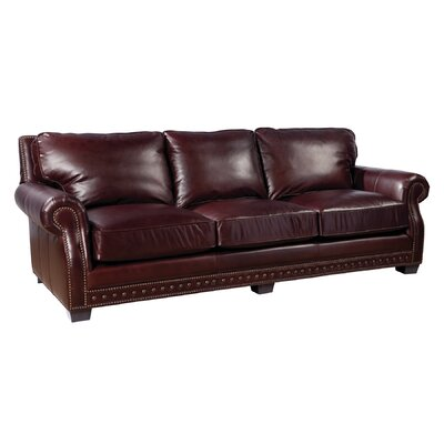 Palatial Furniture Canyon Leather Sofa