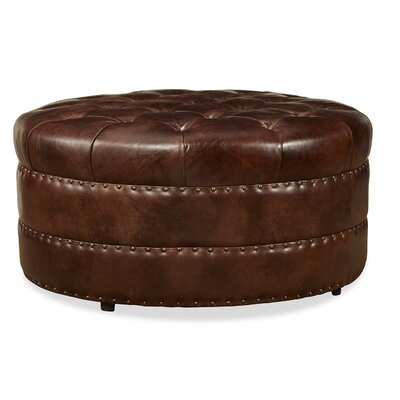 Palatial Furniture Hudson Leather Cocktail Ottoman