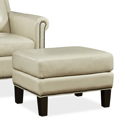 Palatial Furniture Belle Leather Ottoman